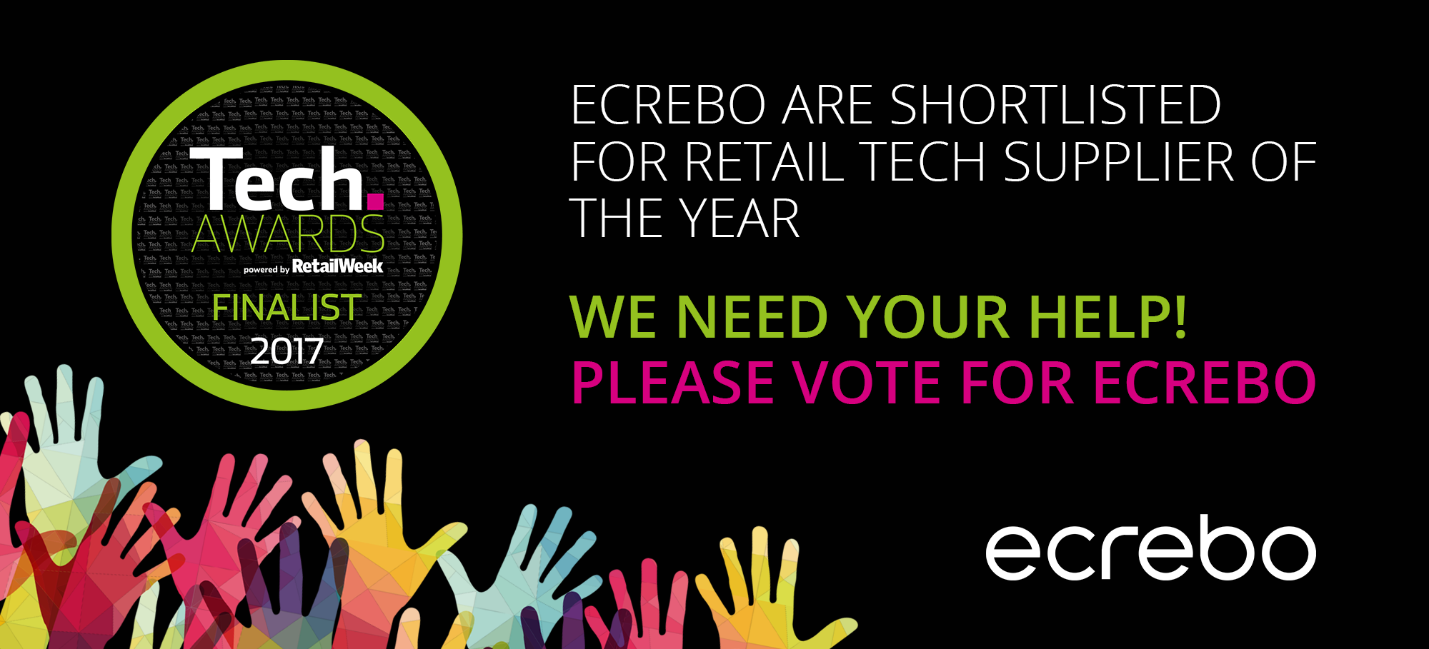 Ecrebo's Hot Streak Continues: Shortlisted for Two Retail Week Tech. Awards